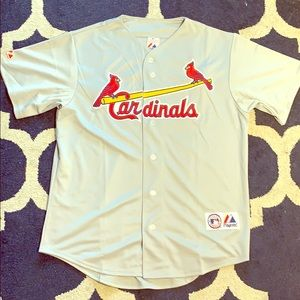 Cardinals baseball Jersey majestic